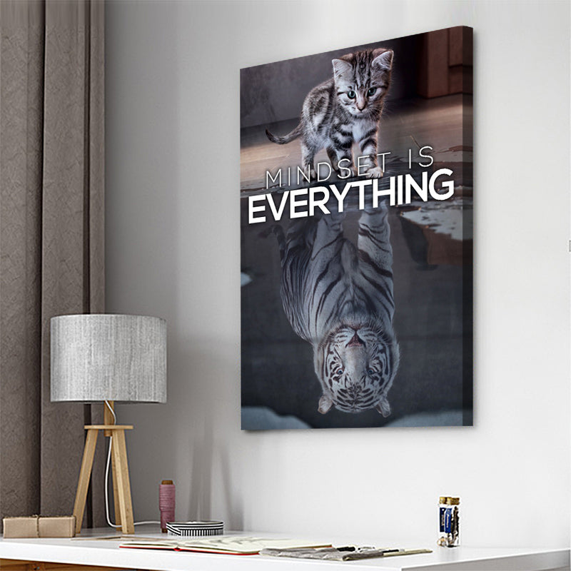 Mindset is Everything - Canvasist