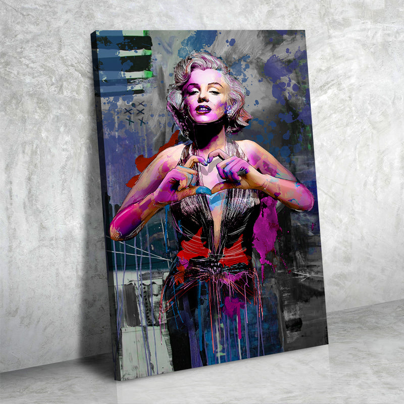 Love Style Icon Art - Canvasist
