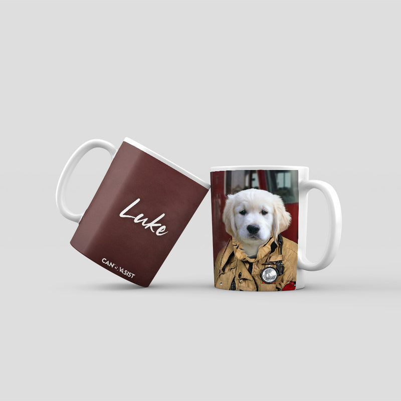 Firefighter Pet Mug
