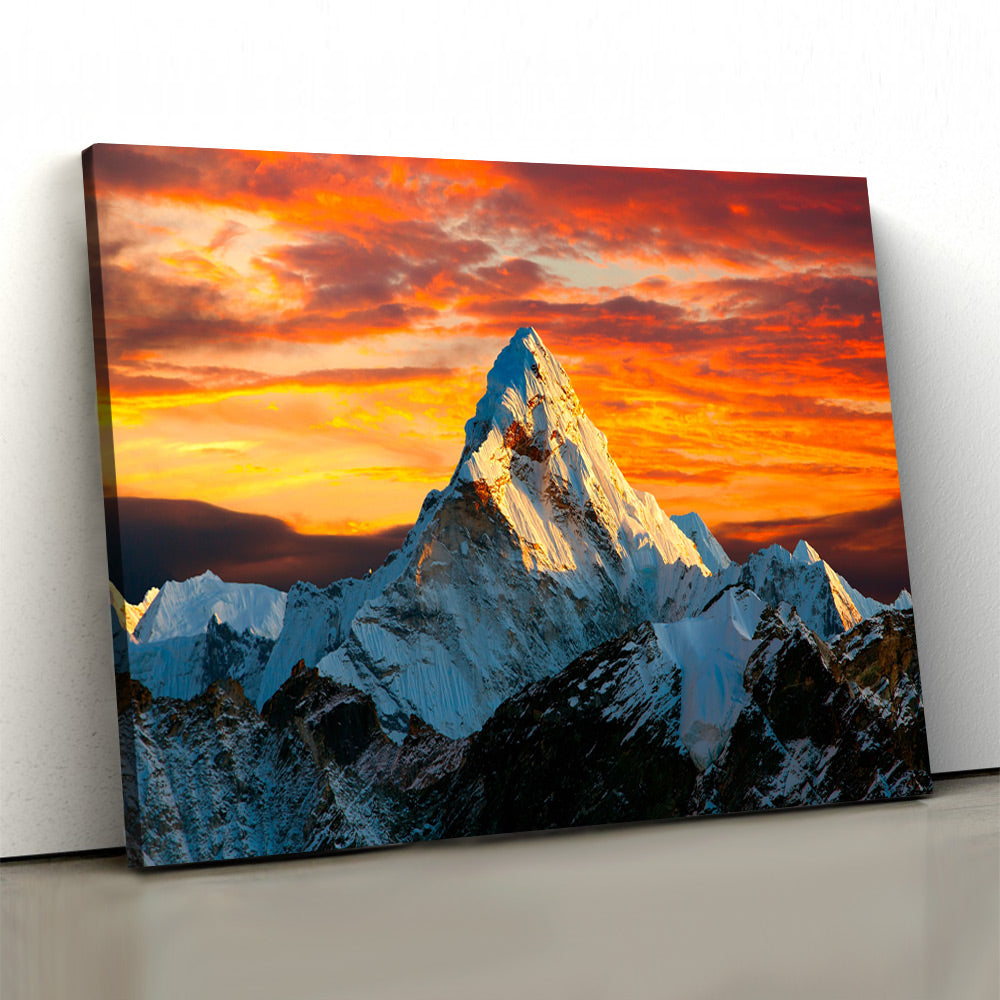 Mystic Mountain Dust Himalayas Canvas Set - Canvasist