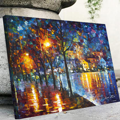 Night Lights Painting Canvas Set - Canvasist