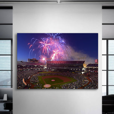 The A's Stadium 3 Canvas Set - Canvasist