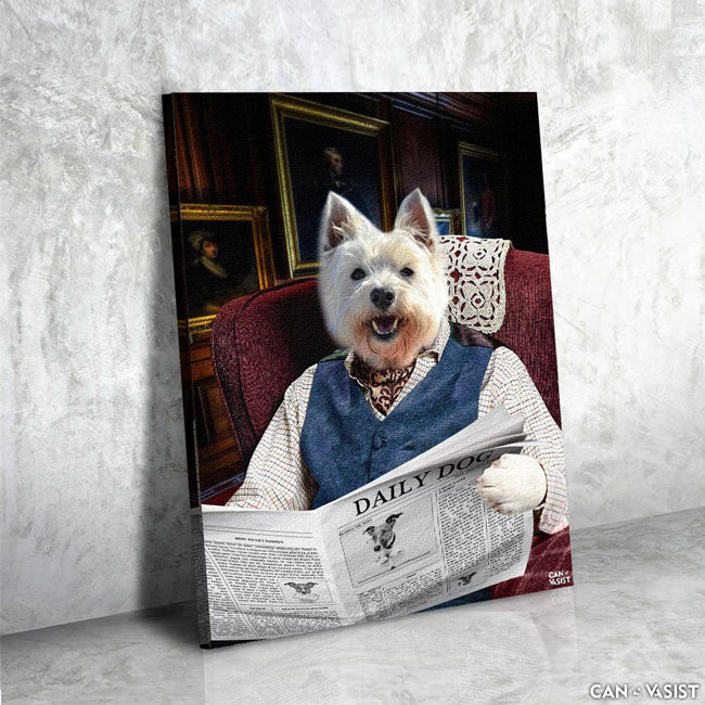 English Countryman Pet Canvas