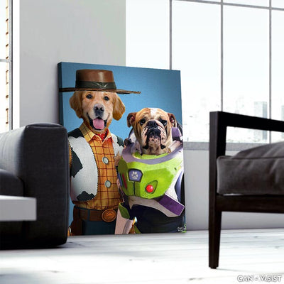 Paw Story Pet Canvas