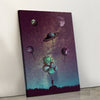 Planet Balloons Canvas set
