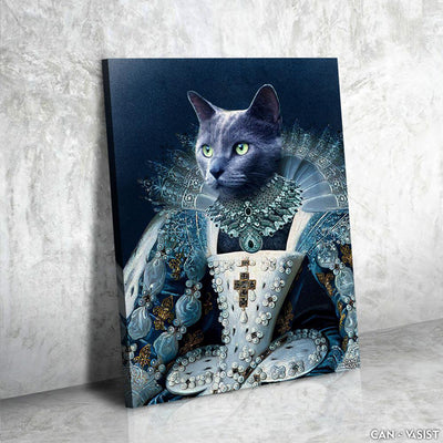 Royal Princess Pet Canvas - Canvasist