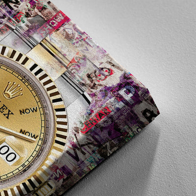 Now Or Never Rolex - Canvasist