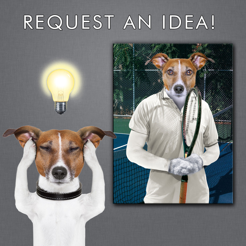 Request an idea - pet canvas