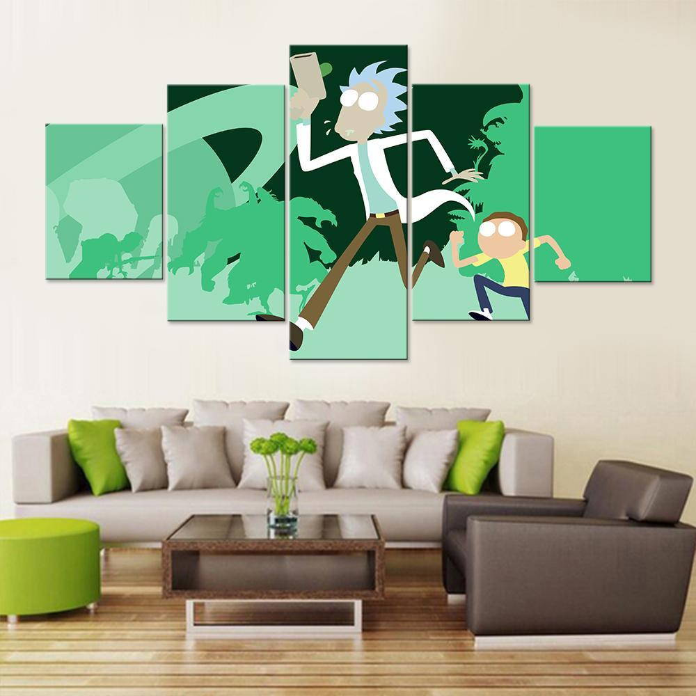 Sanchez and Smith Cartoon Art Canvas Set - Canvasist