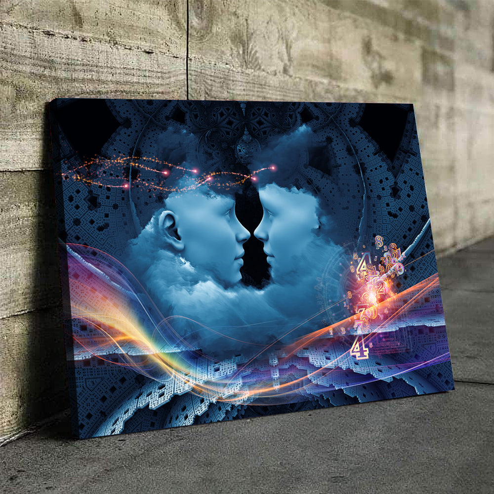 A Beautiful Mind Canvas Set - Canvasist
