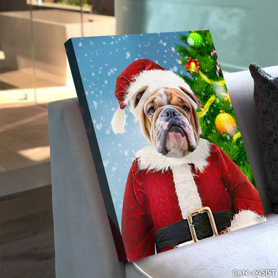 Santa Paws Pet Canvas