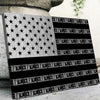 Silver Dollar Flag - Canvasist
