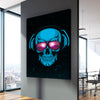 Skull with Glasses - Canvasist