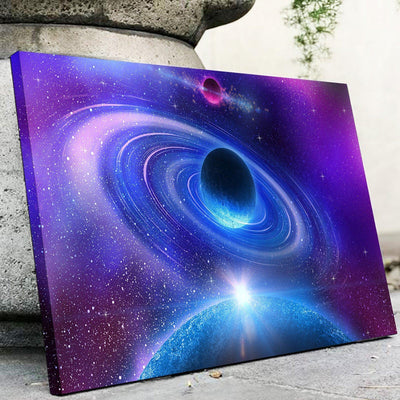 Distant planets canvas set - Canvasist