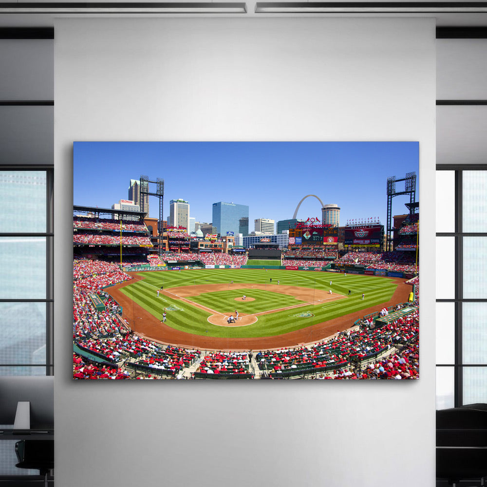Busch Stadium St Louis Cardinals Canvas Set - Canvasist