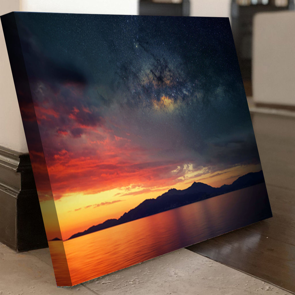 Starry Night Over Corsica Canvas Set - Canvasist