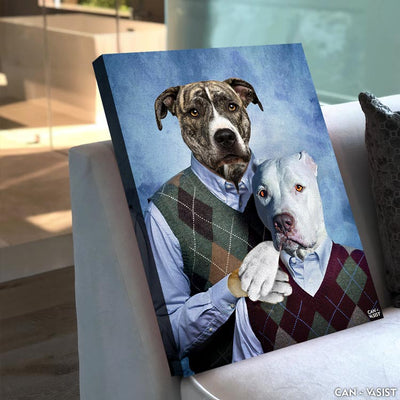 Step brothers Pet Canvas