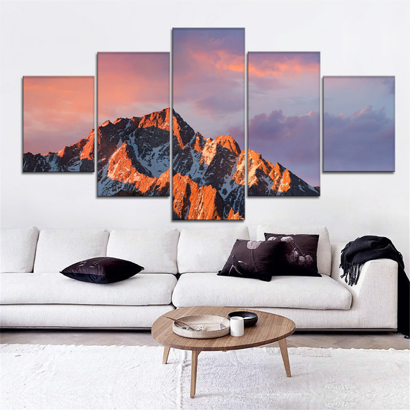 Sunset gleam Canvas Set - Canvasist