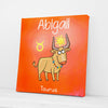 Custom Zodiac Name Baby Art - Canvasist