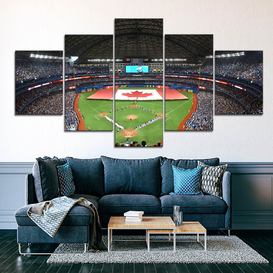 The Bluebird Home Stadium Canvas Set