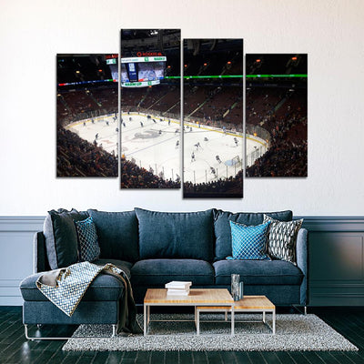 The Library Stadium Canucks Canvas Set - Canvasist