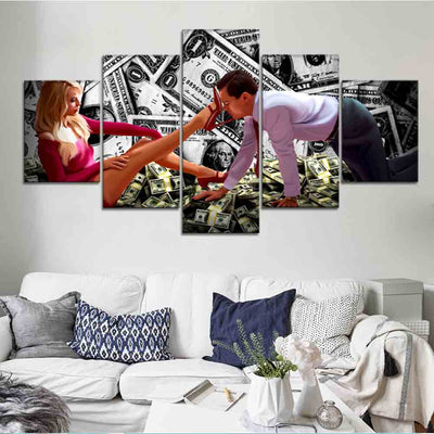 Show me the Money Canvas Set - Canvasist