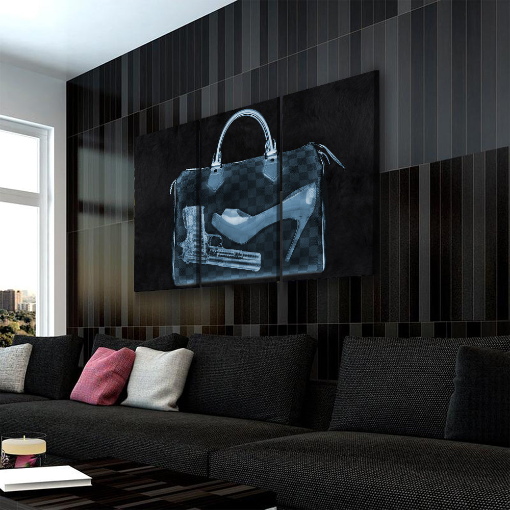 Couture X Ray Bag Art - Canvasist