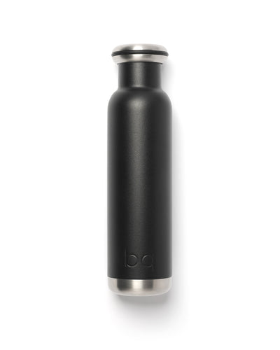 black 750ml bq bottle for everyday hydration