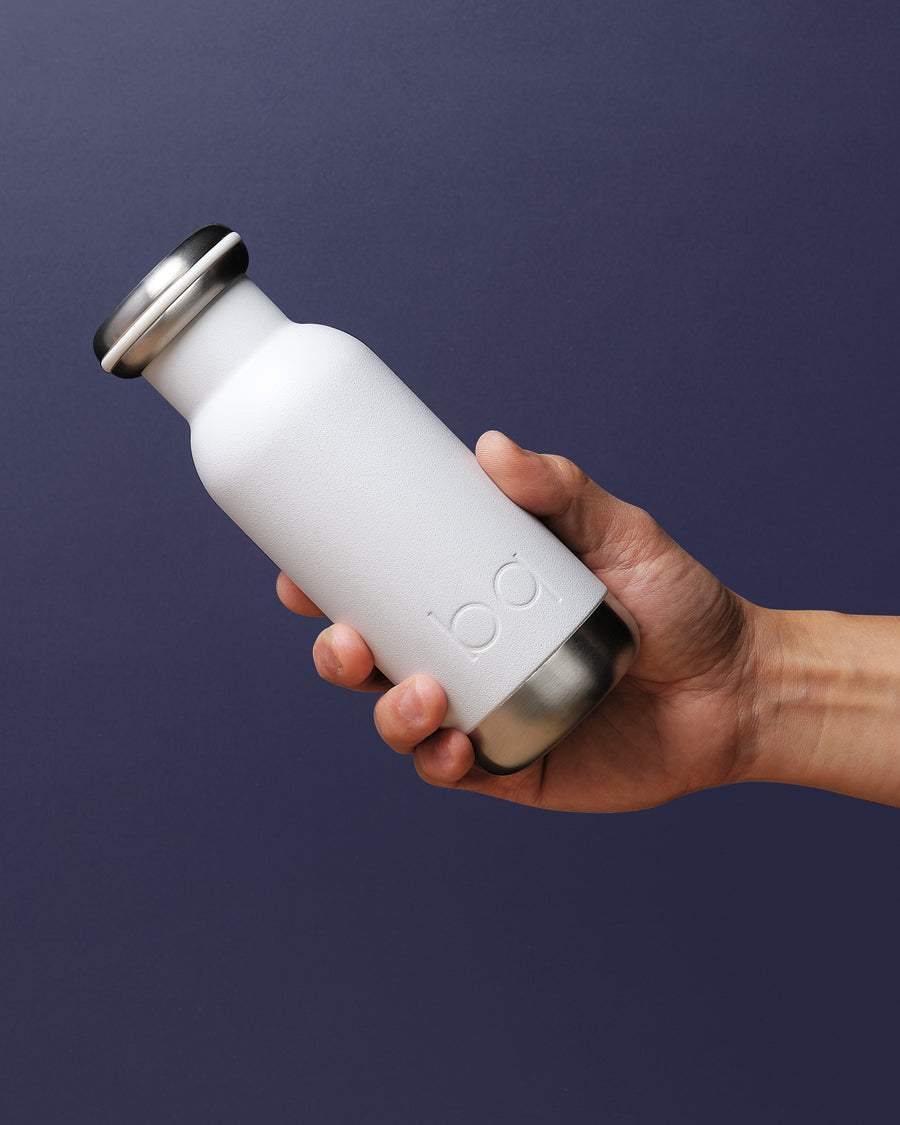 bq bottle 300ml | 10oz White