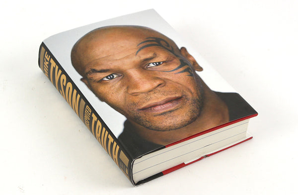 MIKE TYSON SIGNED BOOK UNDISPUTED TRUTH