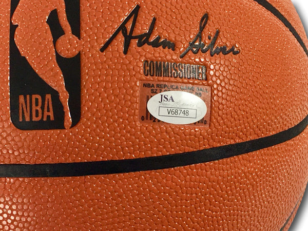 RICK BARRY AUTOGRAPHED BASKETBALL