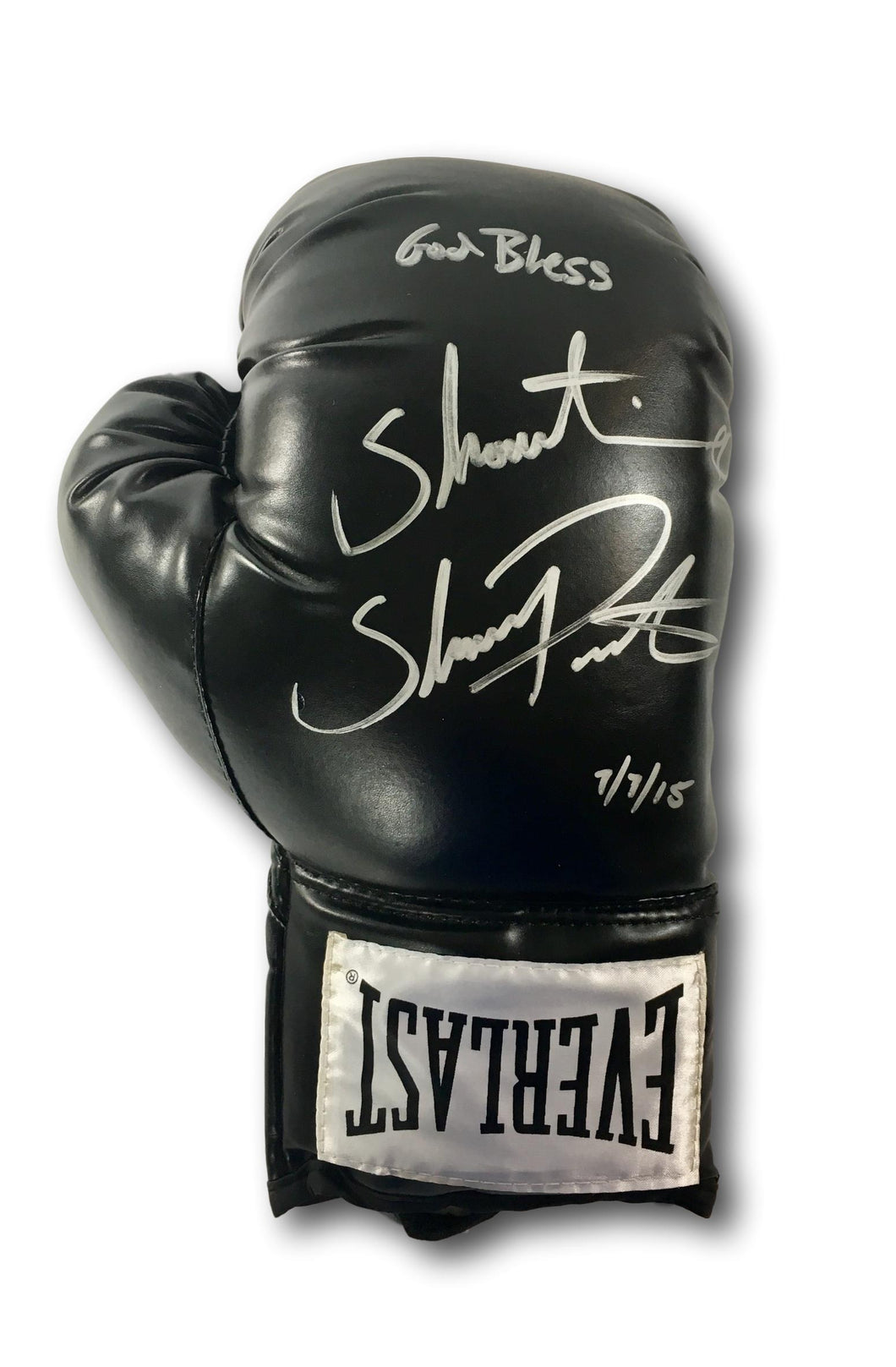 SHAWN PORTER SIGNED BOXING GLOVE