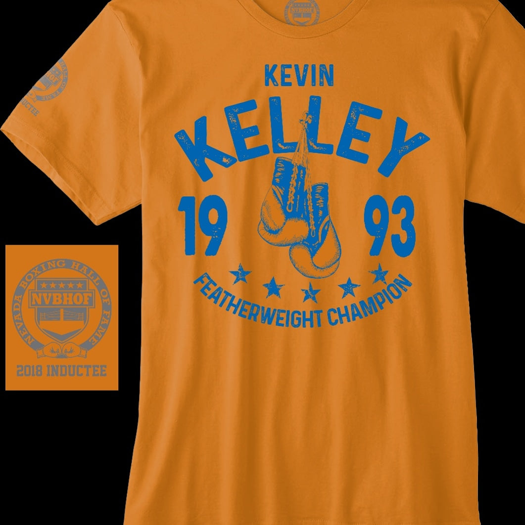 KEVIN KELLEY OFFICIAL NVBHOF T-SHIRT - 2018 INDUCTEE