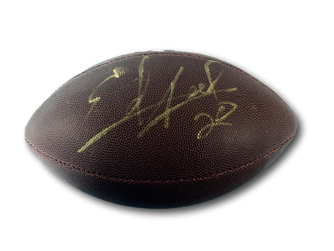 ED REED AUTOGRAPHED FOOTBALL BALTIMORE RAVENS