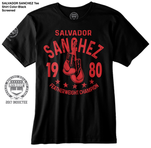 SALVADOR SANCHEZ OFFICIAL NVBHOF T-SHIRT - 2017 INDUCTEE