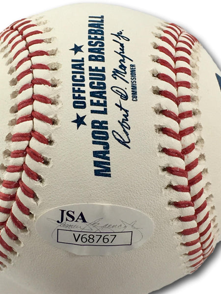 SHANE VICTORINO AUTOGRAPHED BASEBALL PHILLIES RED SOX
