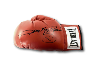 """SUGAR"" RAY LEONARD SIGNED BOXING GLOVE"