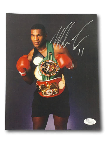 MIKE TYSON SIGNED 8X10 PHOTO