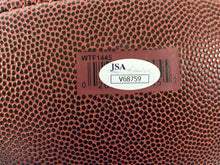 VINCE YOUNG AUTOGRAPHED FOOTBALL TEXAS LONGHORNS
