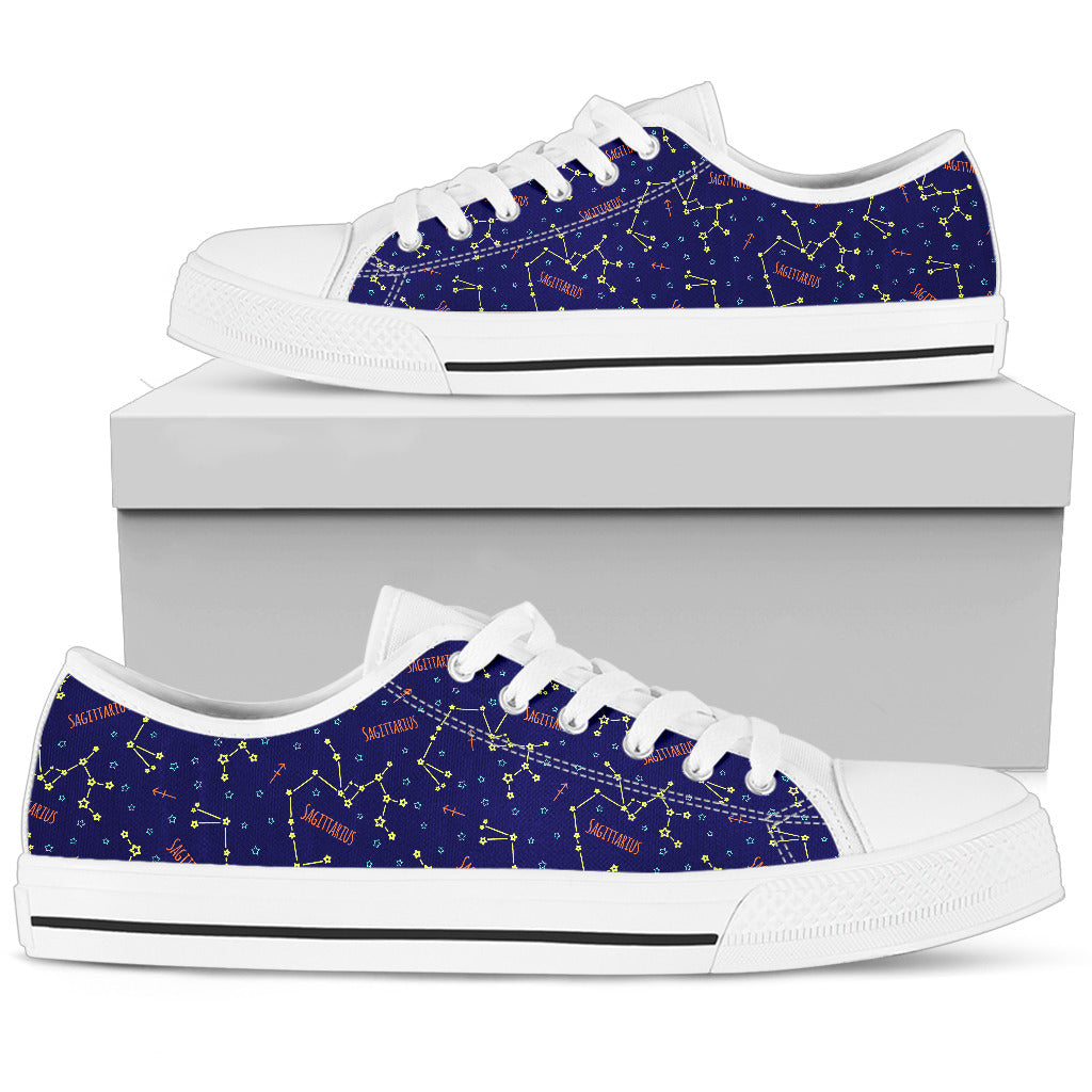 Sagittarius Low Top Canvas Shoes - GearBody
