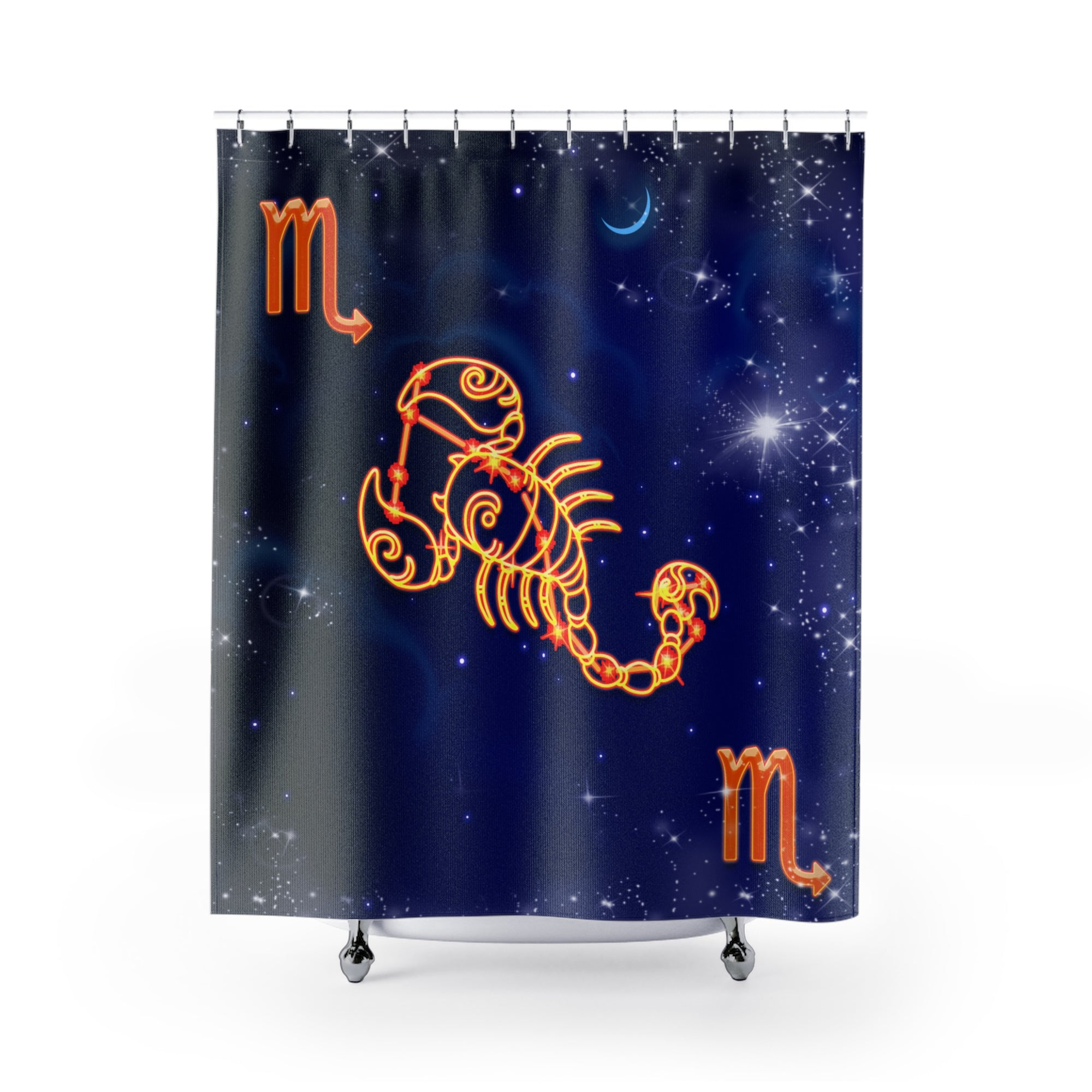 The Fiery Red Scorpio Shower Curtain - GearBody