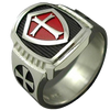 Knights Templar Crusader Cross Ring - GearBody