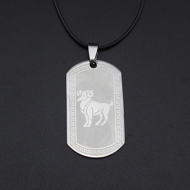 HOT Stainless Steel Zodiac Pendant - GearBody