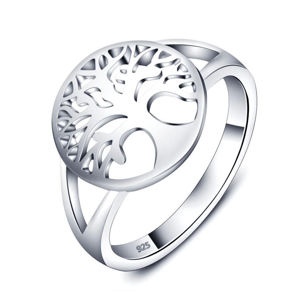 Sterling Silver Tree of Life Ring - GearBody