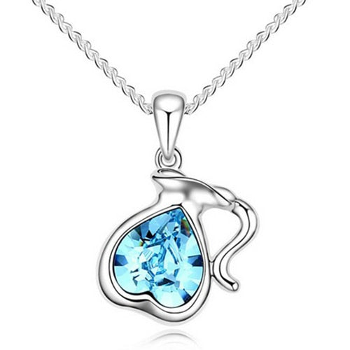 Aquarius Pendant with Austrian Crystal - GearBody