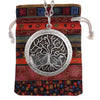 """Tree of Life"" Essential Oil Diffusing Locket Necklace - GearBody"