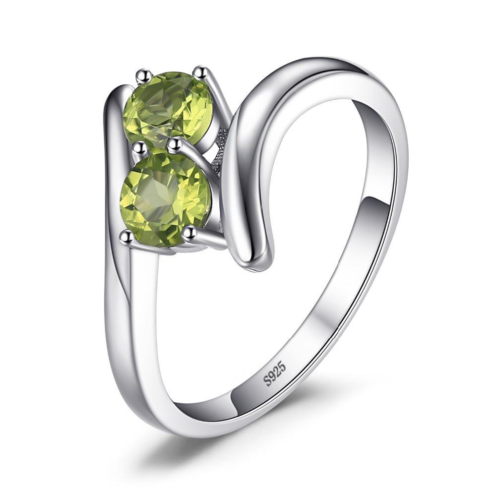 August Peridot Duo Ring - GearBody