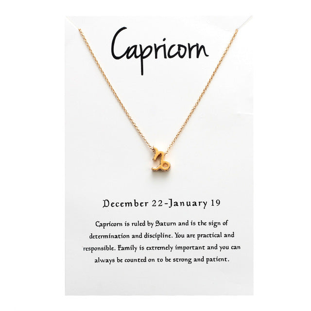 Strong Capricorn Necklace - GearBody