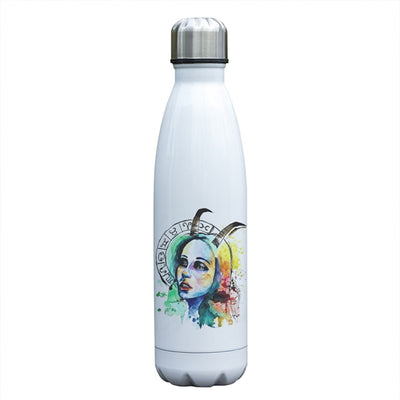 Capricorn Zodiac Printed Vacuum Thermos Bottle - GearBody