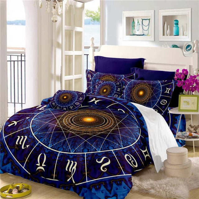 Magical Zodiac Bedding Set - GearBody